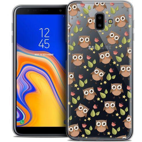 "Carcasa Crystal Gel Extra Fina Samsung Galaxy J6 Plus J6+ (6.4"") Summer Hibou"