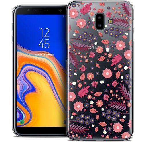 "Carcasa Crystal Gel Extra Fina Samsung Galaxy J6 Plus J6+ (6.4"") Spring Printemps"