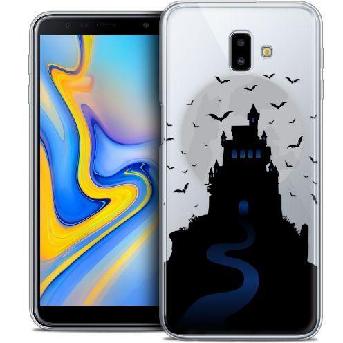 "Carcasa Crystal Gel Extra Fina Samsung Galaxy J6 Plus J6+ (6.4"") Halloween Castle Nightmare"