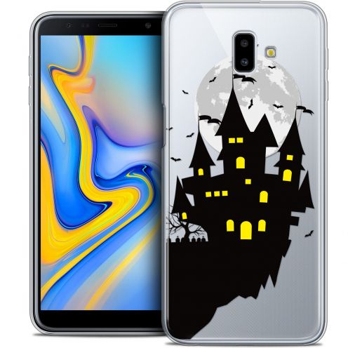 "Carcasa Crystal Gel Extra Fina Samsung Galaxy J6 Plus J6+ (6.4"") Halloween Castle Dream"