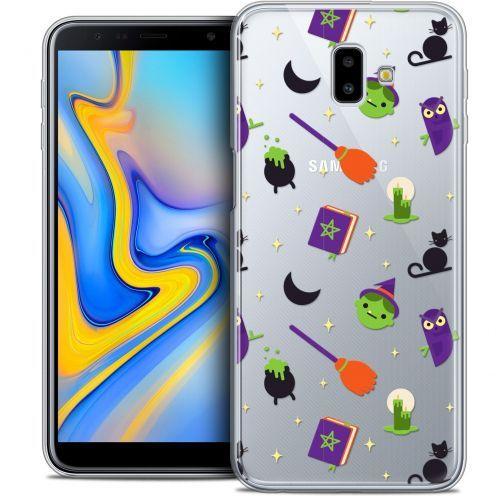 "Carcasa Crystal Gel Extra Fina Samsung Galaxy J6 Plus J6+ (6.4"") Halloween Witch Potter"