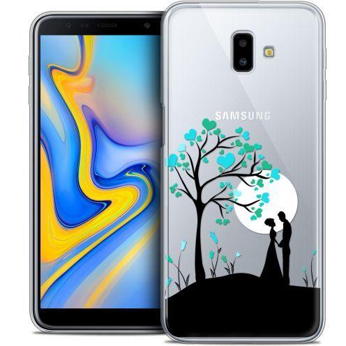 "Carcasa Crystal Gel Extra Fina Samsung Galaxy J6 Plus J6+ (6.4"") Love Sous l'arbre"