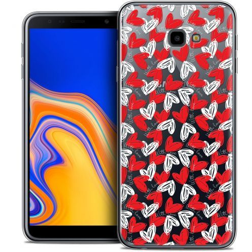 "Carcasa Crystal Gel Extra Fina Samsung Galaxy J4 Plus J4+ (6"") Love With Love"
