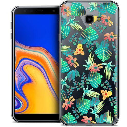 """Carcasa Crystal Gel Extra Fina Samsung Galaxy J4 Plus J4+ (6"""") Spring Tropical"""