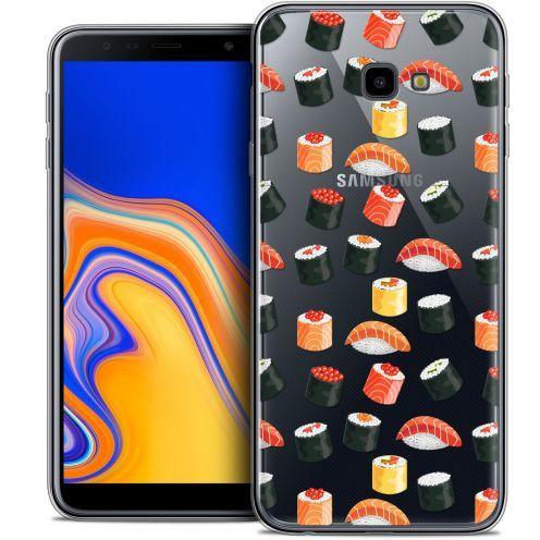 """Carcasa Crystal Gel Extra Fina Samsung Galaxy J4 Plus J4+ (6"""") Foodie Sushi"""