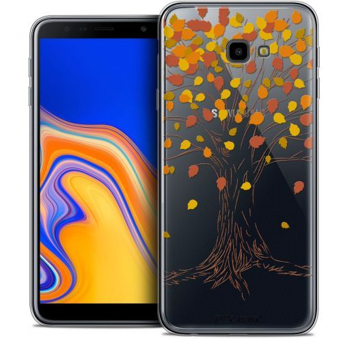 "Carcasa Crystal Gel Extra Fina Samsung Galaxy J4 Plus J4+ (6"") Autumn 16 Tree"