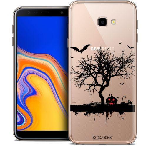 "Carcasa Crystal Gel Extra Fina Samsung Galaxy J4 Plus J4+ (6"") Halloween Devil's Tree"