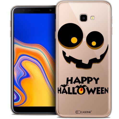 "Carcasa Crystal Gel Extra Fina Samsung Galaxy J4 Plus J4+ (6"") Halloween Happy"