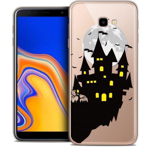 "Carcasa Crystal Gel Extra Fina Samsung Galaxy J4 Plus J4+ (6"") Halloween Castle Dream"