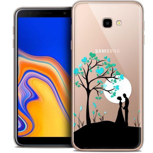 "Carcasa Crystal Gel Extra Fina Samsung Galaxy J4 Plus J4+ (6"") Love Sous l'arbre"