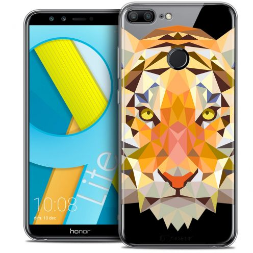"Carcasa Crystal Gel Extra Fina Huawei Honor 9 LITE (5.7"") Polygon Animals Tigre"