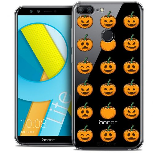"Carcasa Crystal Gel Extra Fina Huawei Honor 9 LITE (5.7"") Halloween Smiley Citrouille"