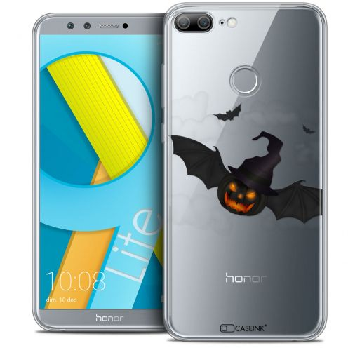"Carcasa Crystal Gel Extra Fina Huawei Honor 9 LITE (5.7"") Halloween Chauve Citrouille"