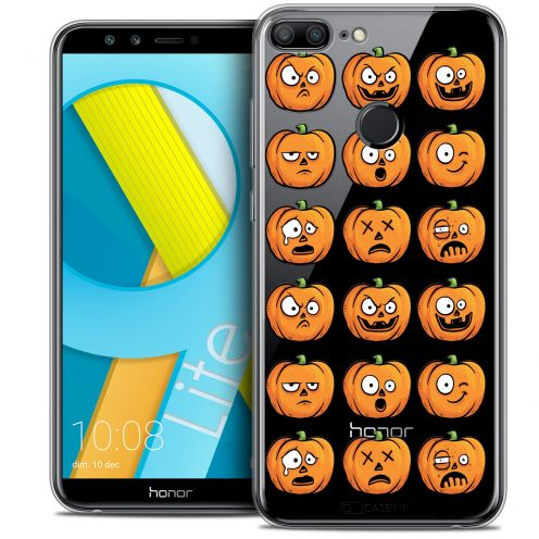 "Carcasa Crystal Gel Extra Fina Huawei Honor 9 LITE (5.7"") Halloween Cartoon Citrouille"