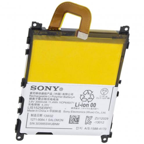 Batería genuina LIS1525ERPC Para Sony Xperia Z1 L39H