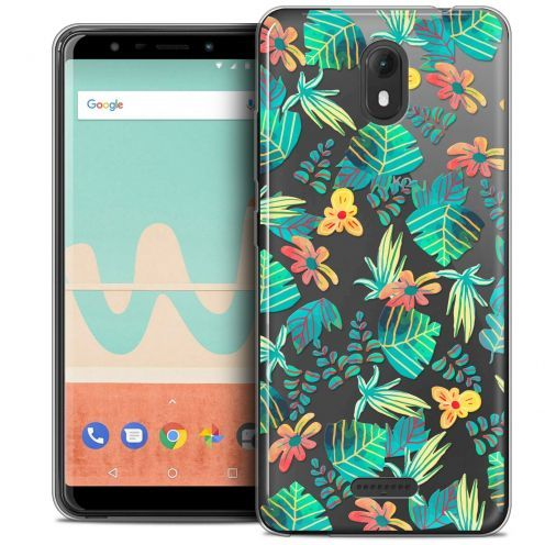 "Carcasa Crystal Gel Extra Fina Wiko View GO (5.7"") Spring Tropical"