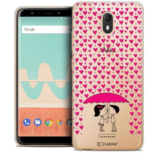 "Carcasa Crystal Gel Extra Fina Wiko View GO (5.7"") Love Pluie d'Amour"