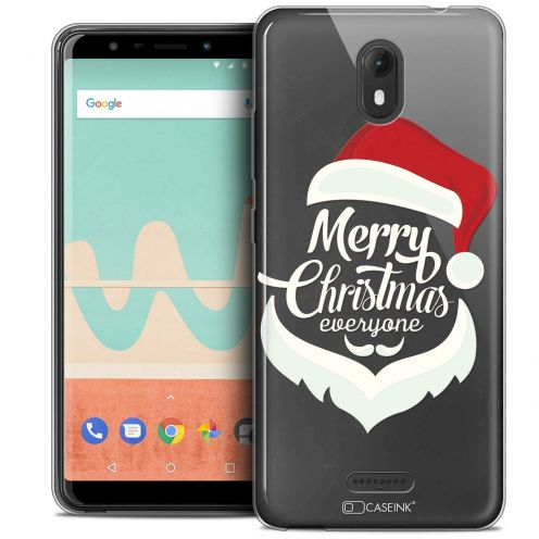 "Carcasa Crystal Gel Extra Fina Wiko View GO (5.7"") Noël 2017 Merry Everyone"