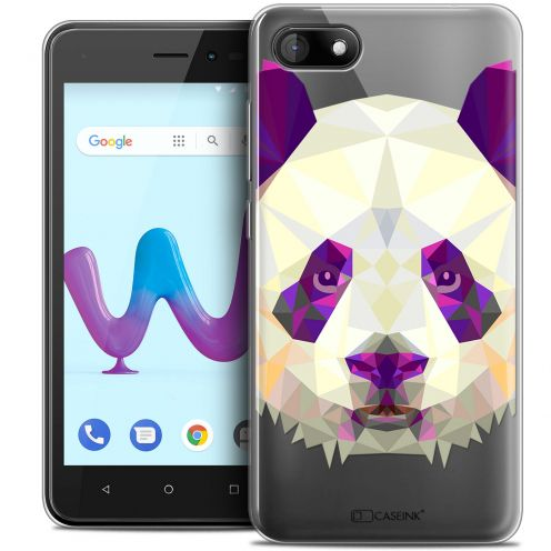 "Carcasa Crystal Gel Extra Fina Wiko Sunny 3 (5"") Polygon Animals Panda"