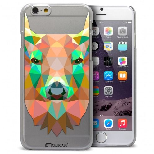 Carcasa Crystal Extra Fina iPhone 6 / 6s Polygon Animals Ciervo