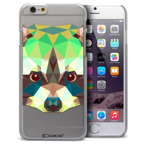 Carcasa Crystal Extra Fina iPhone 6 Polygon Animals Mapache