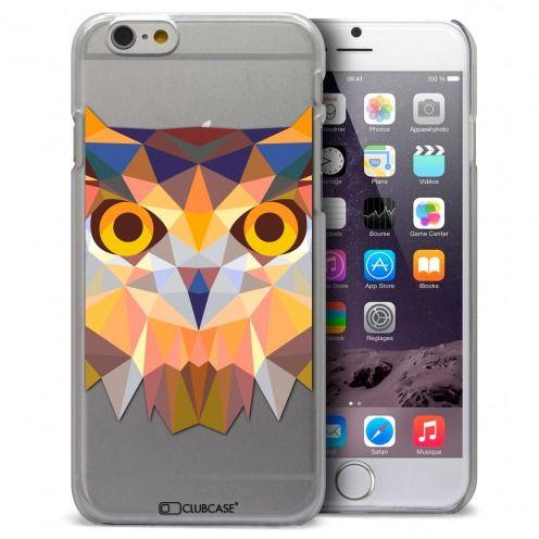Carcasa Crystal Extra Fina iPhone 6 / 6s Polygon Animals Búho