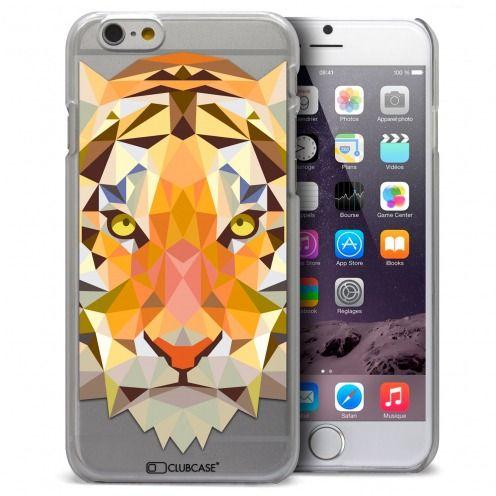 Carcasa Crystal Extra Fina iPhone 6 Polygon Animals Tigre