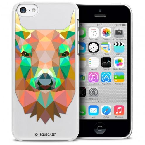 Carcasa Crystal Extra Fina iPhone 5C Polygon Animals Ciervo