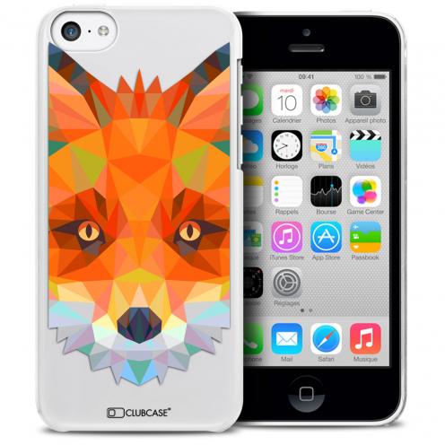 Carcasa Crystal Extra Fina iPhone 5C Polygon Animals Zorro