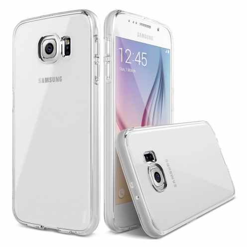 "Casco Flexible ""Crystal Clear"" para Samsung Galaxy S6"