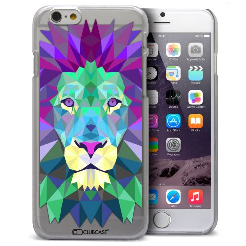 Carcasa Crystal Extra Fina iPhone 6 Plus Polygon Animals León