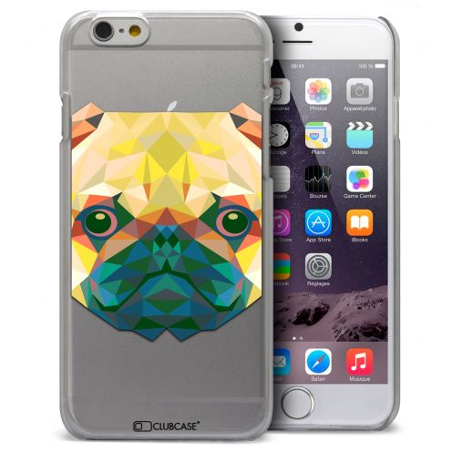 Carcasa Crystal Extra Fina iPhone 6 Plus Polygon Animals Perro