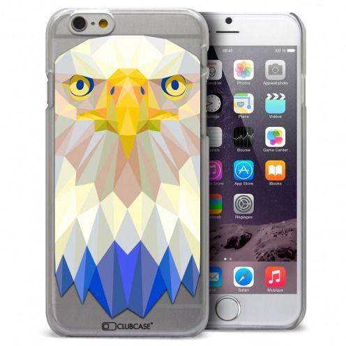Carcasa Crystal Extra Fina iPhone 6 Polygon Animals Águila