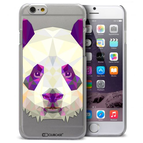 Carcasa Crystal Extra Fina iPhone 6 Polygon Animals Panda
