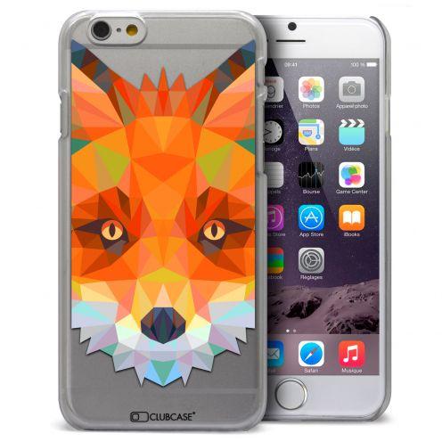Carcasa Crystal Extra Fina iPhone 6 Plus Polygon Animals Zorro