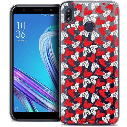 """Carcasa Crystal Gel Extra Fina Asus Zenfone Max (M1) ZB555KL (5.5"""") Love With Love"""