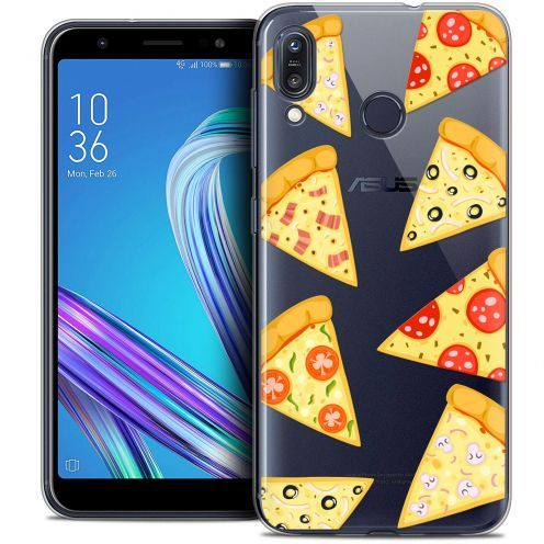 """Carcasa Crystal Gel Extra Fina Asus Zenfone Max (M1) ZB555KL (5.5"""") Foodie Pizza"""