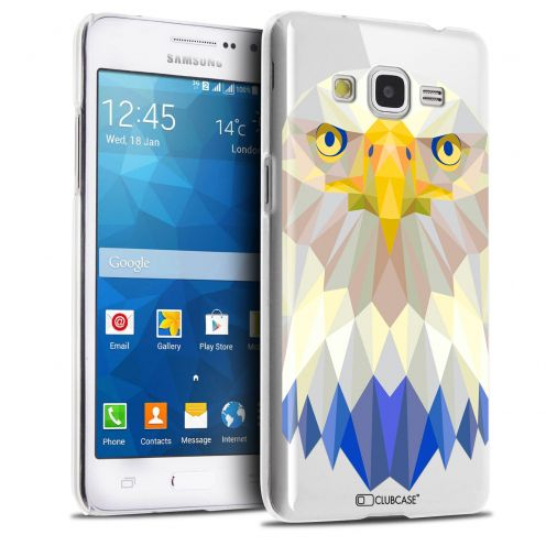 Carcasa Crystal Extra Fina Galaxy Grand Prime Polygon Animals Águila