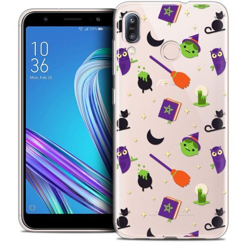 """Carcasa Crystal Gel Extra Fina Asus Zenfone Max (M1) ZB555KL (5.5"""") Halloween Witch Potter"""