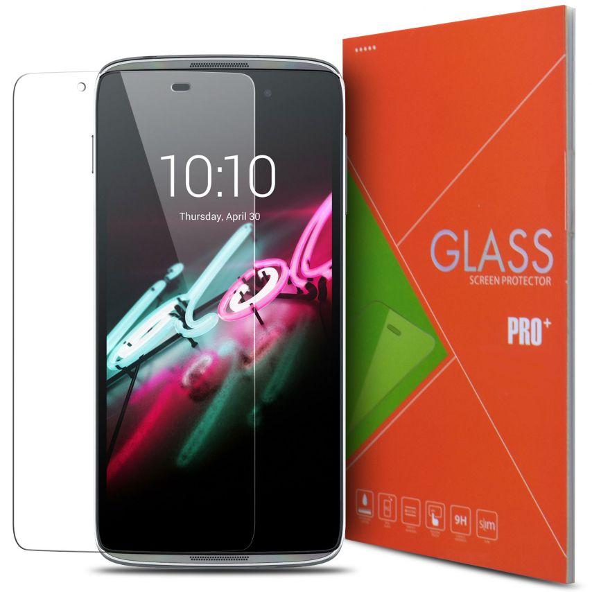 Protección de pantalla de vidrio templado Alcatel Touch Idol 3 (4.7) Glass Pro+ 9H Ultra HD 0.33mm