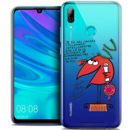 "Carcasa Crystal Gel Extra Fina Huawei P Smart 2019 (6.21"") Les Shadoks® Intelligent"