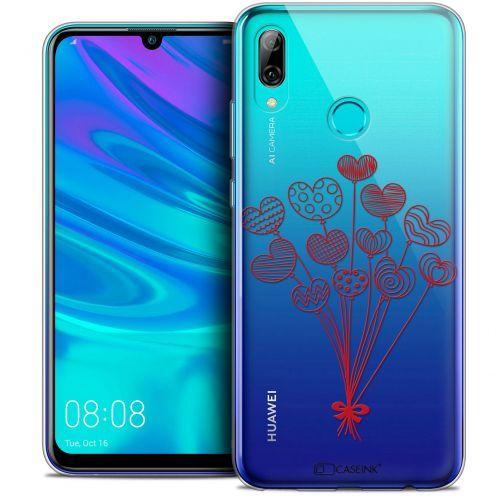 "Carcasa Crystal Gel Extra Fina Huawei P Smart 2019 (6.21"") Love Ballons d'amour"