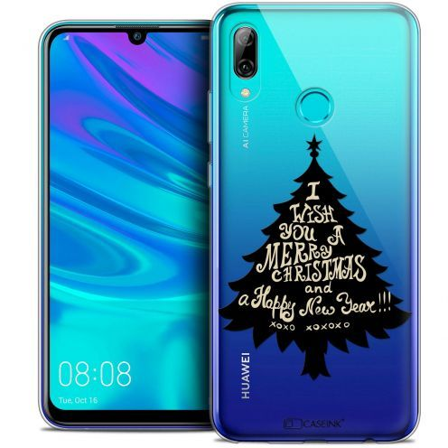 "Carcasa Crystal Gel Extra Fina Huawei P Smart 2019 (6.21"") Noël 2017 XOXO Tree"