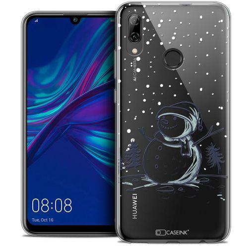 """Carcasa Crystal Gel Extra Fina Huawei P Smart 2019 (6.21"""") Noël 2017 Bonhomme de Neige"""