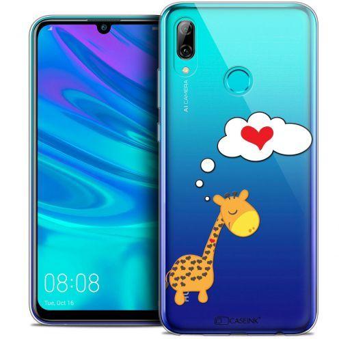 "Carcasa Crystal Gel Extra Fina Huawei P Smart 2019 (6.21"") Love Girafe Amoureuse"