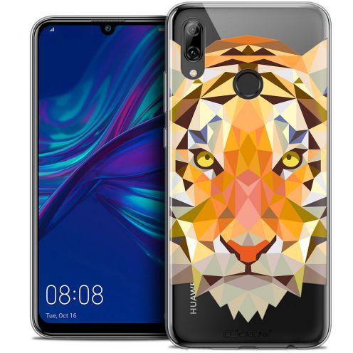 "Carcasa Crystal Gel Extra Fina Huawei P Smart 2019 (6.21"") Polygon Animals Tigre"