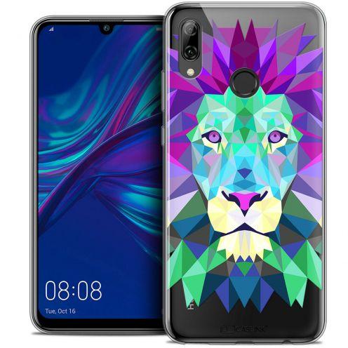 "Carcasa Crystal Gel Extra Fina Huawei P Smart 2019 (6.21"") Polygon Animals León"