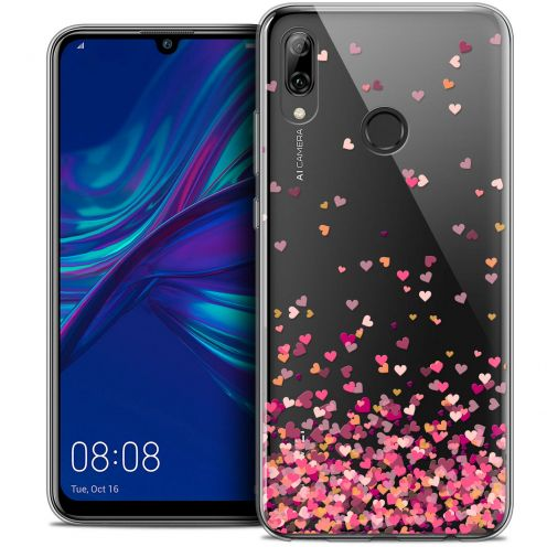 "Carcasa Crystal Gel Extra Fina Huawei P Smart 2019 (6.21"") Sweetie Heart Flakes"