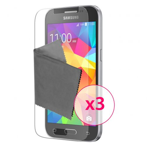 Protector De Pantalla Samsung Galaxy Core Prime Clubcase® 3H Ultra Clear HD Lote de 3