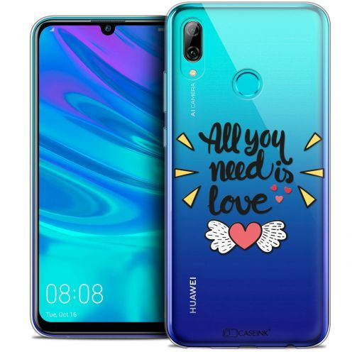 "Carcasa Crystal Gel Extra Fina Huawei P Smart 2019 (6.21"") Love All U Need Is"